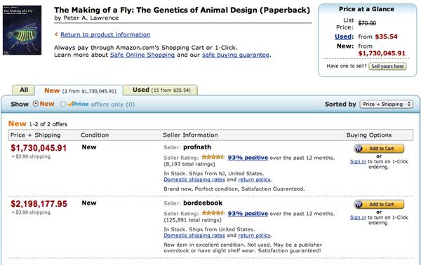 Amazon's million dollar book